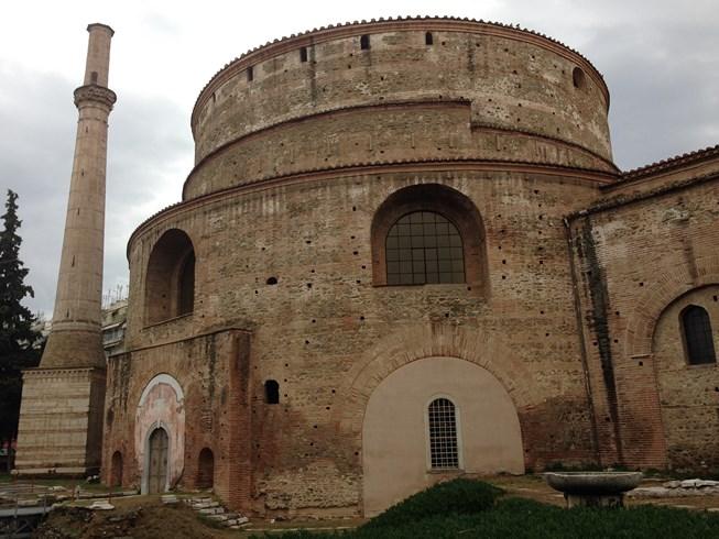 Rotonde Romaine, transformée en Mosquée.