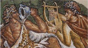 Mosaique vin