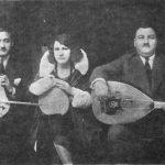 """Trio de rebetiko, période dite """"de Smyrne"""""""