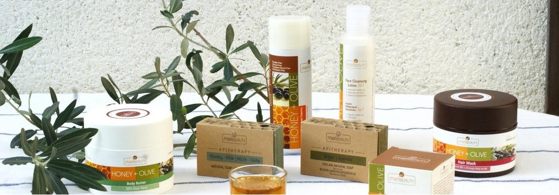 Produits cosmetiques Grecs de la collection Merveilles du Ddécanèse