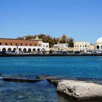 Le front de mer Foro Italico à Rhodes