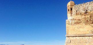 Un des remparts de la citadelle de Palamidi à Nauplie
