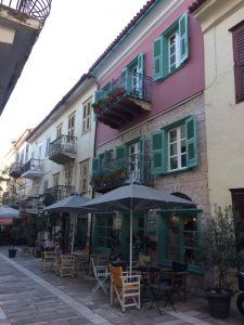 Nauplie rue néoclassique