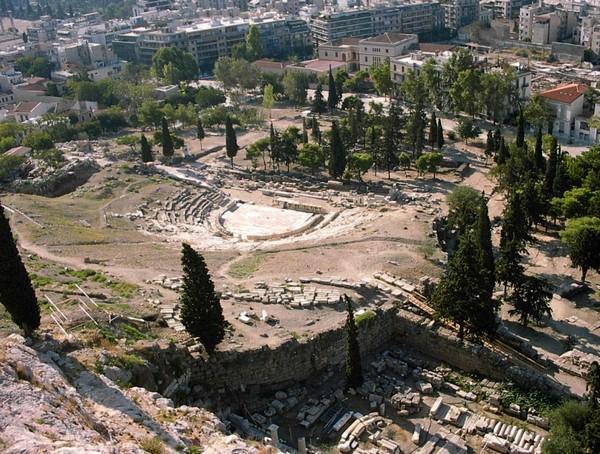Théâtre de Dyonisos à Athènes