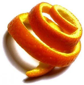 Zeste d'orange