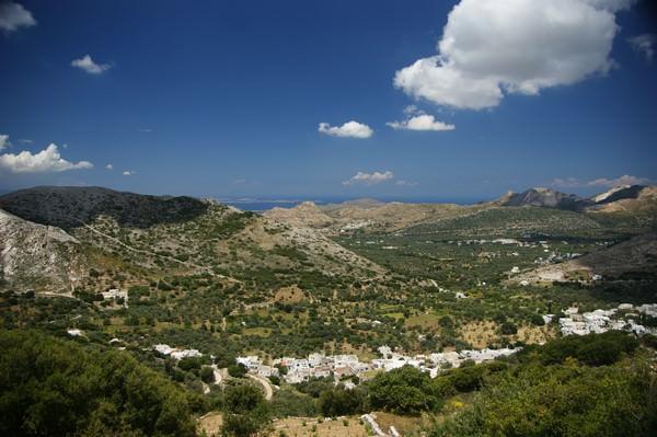 Les montagnes de Naxos