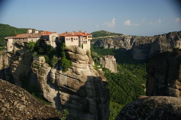 Les monastères de Varlaam et Roussanou