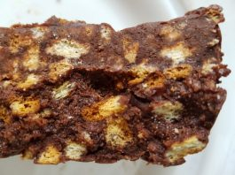 Recette du mosaïkos ou kormos au chocolat