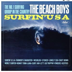 Misirlou dans l'album des Beach Boys Surfin'USA