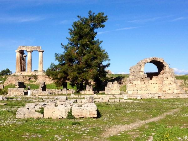 Corinthe - Allée des Anciens magasins