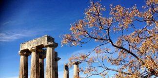 Corinthe - Temple d'Apollon