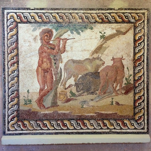 Mosaique Corinthienne - Epoque Romaine