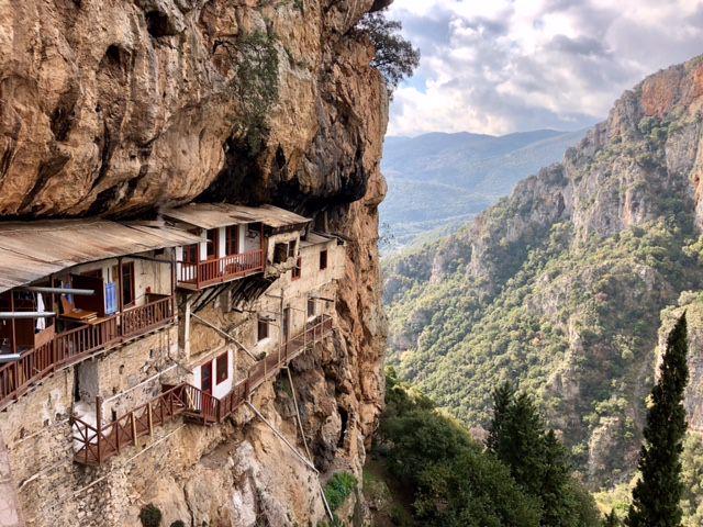Le monastère de Agiou Ioanni Prodromou
