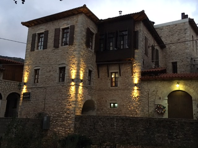 Maison typique des villages d'Arcadie