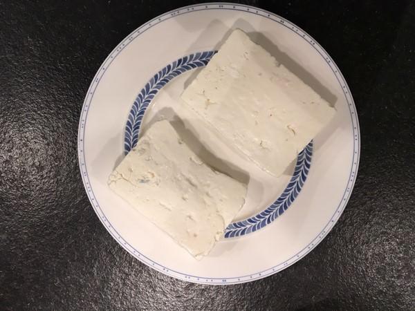 Soupe de trahanas, option avec féta